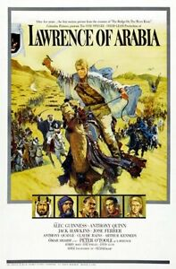 Lawrence Of Arabia Movie Poster 24inx36in