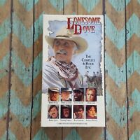 Lonesome Dove Western VHS Video Tape Movie 1992 Robert Duvall Tommy Lee Jones