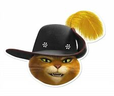 Puss in Boots Dreamworks Single 2D Card Face Mask - Party Event Dress Up