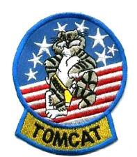 TOP GUN TOPGUN F-14 TOMCAT PILOT'S FLIGHT SUIT TOMCAT ARM VeIcrô PATCH