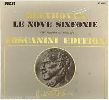Toscanini: Beethoven The Symphonies (Le 9 Sinfonie)  - 6 LP