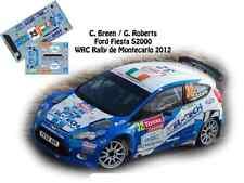 DECALS 1/43 FORD FIESTA S2000 WRC -#32 C.BREEN - RALLYE MONTE CARLO 2012- NCM048