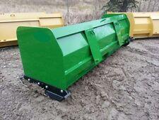 "New 96"" 8 Snow Box Pusher Plow Blade John Deere Compact Tractor Loader 200-500"