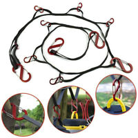 Outdoor Camping lanyard With Hook Rope Storage Travel Clothesline Tent Hook