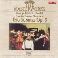 Handel - Trio sonatas op. 5  - The Masterworks - CD -