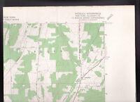 Angelica Quadrangle Allegany County NY  US Geological Survey Map 1964