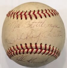 1967 NEW YORK YANKEES Team Signed Autographed Baseball