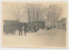 Foto Russland Wehrmacht LKW-Druck 1943  2.WK (4244)
