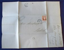 Mayfairstamps Spain 1857 Valencia to Madrid Folded cover wwg17009