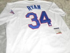 Nolan Ryan Rangers Baseball MLB Signed / Autographed Jersey with COA