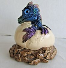 Windstone Editions Hatching Dragon - Peacock - Pena - 1984 - Early Edition