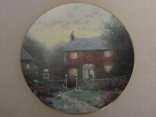 Pye Corner Cottage collector plate Thomas Kinkade Thomashire #4