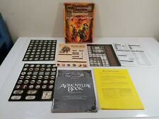 Dungeons & Draagons Adventure Game Box Set - THE ADVENTURE BEGINS HERE for parts