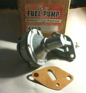 1957 1958 1959 DODGE PLYMOUTH 6 CYLINDER NOS FUEL PUMP 4453