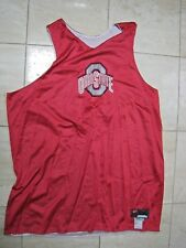 OHIO STATE GAME USED REVERSIBLE BASKETBALL PRACTICE JERSEY