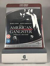 American Gangster HD DVD Region 2 UK Cert 18 HDDVD NEW