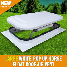 NEW Large Horse Float Roof Air Vent Pop Up Push Roof Caravan RV Trailer
