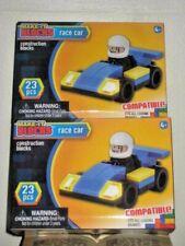 Make-It Blocks Blue Race Car building blocks compatible You Get 2