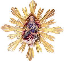 Gott Vater mit Heiliger Geist & Schein, wood, Holzschnitzerei