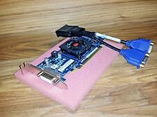 512MB Low Profile SFF Dual Monitor Video Card for HP Pavilion s5100 s5101 s5102