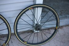 MAVIC KSYRIUM SLR EXALITH CLINCHER WHEEL SET 700c SHIMANO/SRAM  9/10/11 Speed