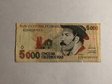 Billet Brésil 5000 cruzeiros 1993