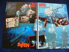 1970s- Alien Ridley Scott Sigourney Weaver Japan 18 Clippings Very Rare