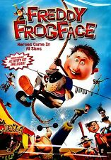 NEW CHILDREN DVD // FREDDY FROGFACE // HEROES COME IN ALL SIZES // 85 minutes