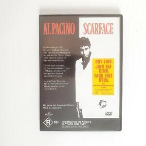 Scarface Movie DVD Region 4 AUS Free Postage - Action Drama Al Pacino