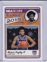 2018-19 NBA HOOPS MARVIN BAGLEY III CLASS OF 2018 SACRAMENTO KINGS #2 Winter