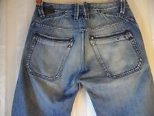 Diesel Busky 0073I Vintage/Retro Mens Medium Blue Wash Denim Jeans Size 28/32