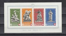 TIMBRE STAMP  BLOC SUISSE  Y&T#5  DON CROIX ROUGE  NEUF**/MNH-MINT 1940 ~R23