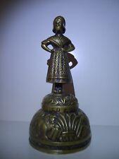 Vintage Sanctus Bronze Bell Lady AQVILA AGNVS X PELICANVS LEO X  Made England