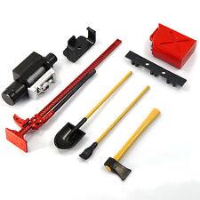 Yeah Racing 1/10 RC Rock Crawler Winch Axes Shovel Gas Can High Jack YA-0356RD