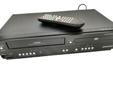 MAGNAVOX  4-HEAD Combo VCR DVD Player (VHS Recorder) With Remote Tested Working