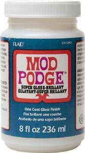 Mod Podge Super Thick Gloss (8-Ounce), Cs11297