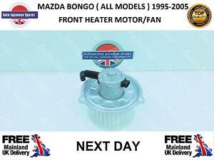 MAZDA BONGO 95-05  ALL MODELS FRONT HEATER FAN MOTOR / BLOWER 3 YRS WARRANTY