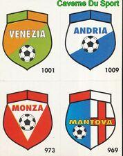 141 VENEZIA - ANDRIA - MONZA - MANTOVA CARD CARTA CALCIO QUIZ VALLARDI 1991
