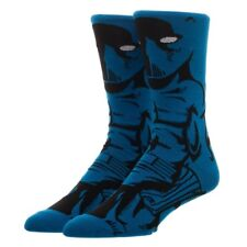 Black Panther 360 Men's Crew Socks Marvel Comics Bioworld 1 Pair Avengers