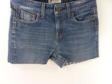 Vintage Reworked Denim Casual Shorts Lee Hot pant Blue size w30 Grade B M332