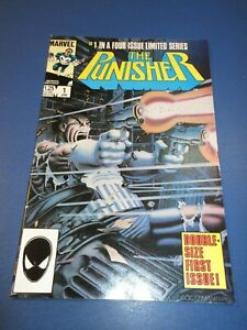Punisher Limited Series #1 1st Solo Punisher Key VF+ Beauty Wow