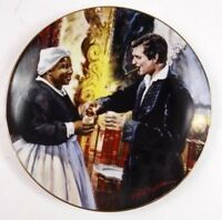 """8"""" Gone With the Wind Plate A Toast to Bonnie Blue with Box COA"""