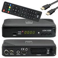 Opticum Lion 3 DVB-T2 Receiver H.265 HEVC HDTV HDMI Mediaplayer USB Terrestrisch