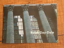 Rolex libretto booklet Daydate year 1973 - inglese USA