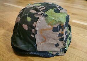Wehrmacht Helmbezug Tarnbezug Eichentarn Platane Helmet Cover  Plane Tree Oak ww