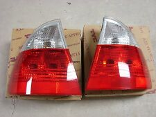 BMW E46 touring rear taillights with clear indicators