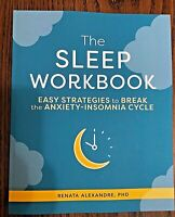 Sleep Workbook Strategies Break Anxiety Insomnia Cycle Health Fitness Sleep NEW