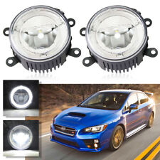 LED Fog Light Lamp+DRL for Subaru Renault Auto Car Driving Light Replacement 2pc