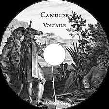 Candide, or the Optimism - Unabridged MP3 CD Audiobook in paper sleeve