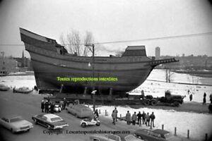Quebec Québec transport du bateau La Grande Hermine boat ship ferry # 58